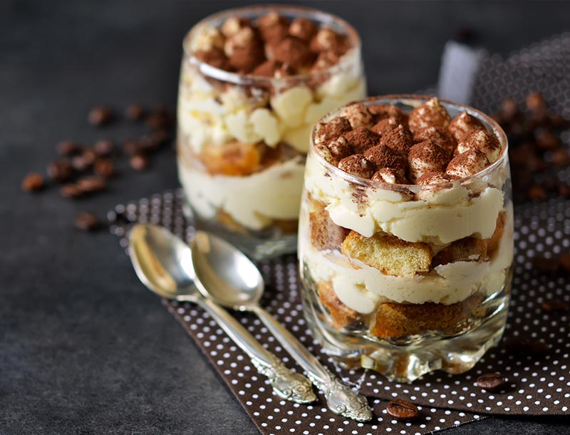 Tiramisù in coppetta